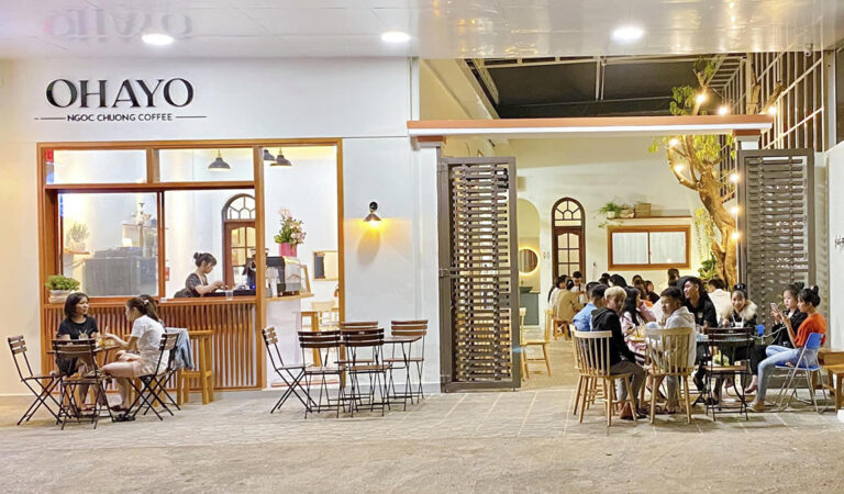 Cafe Ohayo – Phong cách coffee house trẻ trung